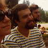 Marianne, David & Richard at Eisner Camp, dedication of building designed by Ronald 1978