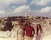My parents came to visit Israel around Sukkot of 1976. Edna gave them a tour of Jerusalem.