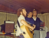 (l-r) Winter 1977 (February) Daniel Sachs, dha, Johannes Christoph von Buehler, singing for a Federation Mission (Beth Kraemer's parents were participants? organizers?).