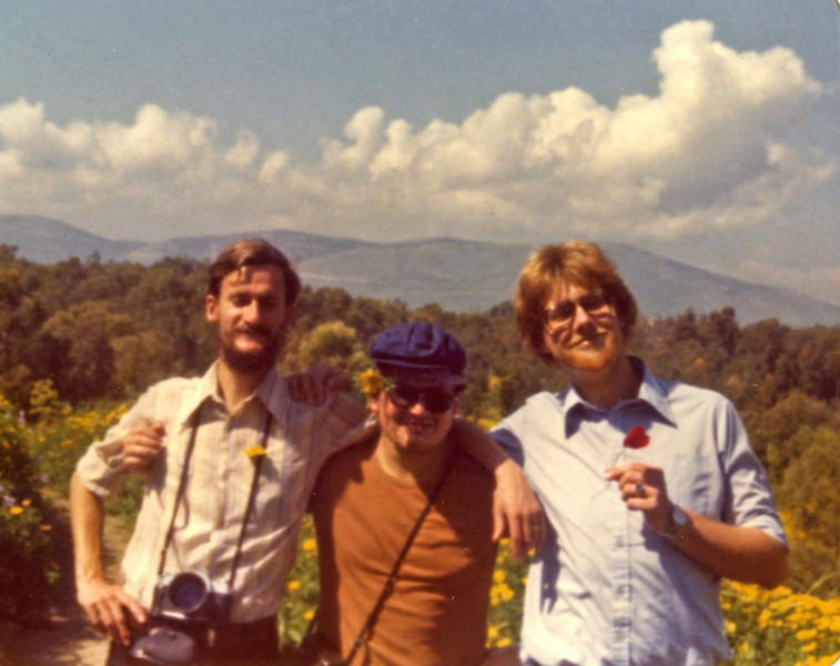 Northern Regions Hike Spring 1977, my fellow travelers: (r-l) Johannes Christoph von Buehler, Edward Reisman, Manfred Dreytza.