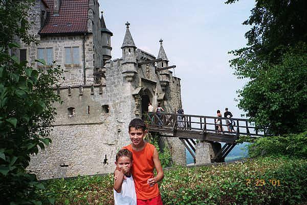 Schloss Lichtenstein, in Baden-Wuerttemberg, 2000.
