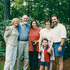 Marianne, Ronald, Edna Azrieli, Margie, David and Joshua (age 5), Wayland, MA