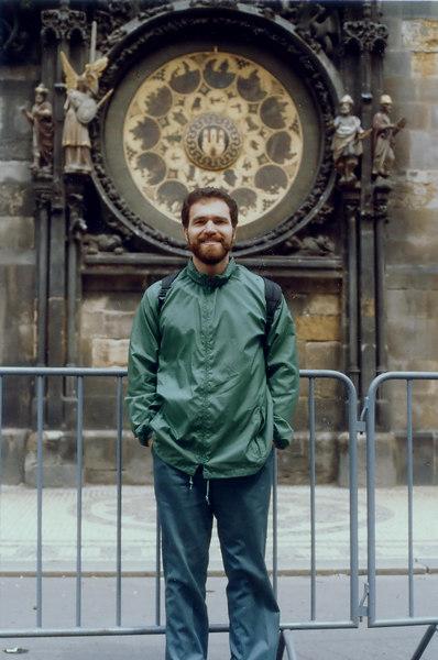 David in Prague, Spring 1985.