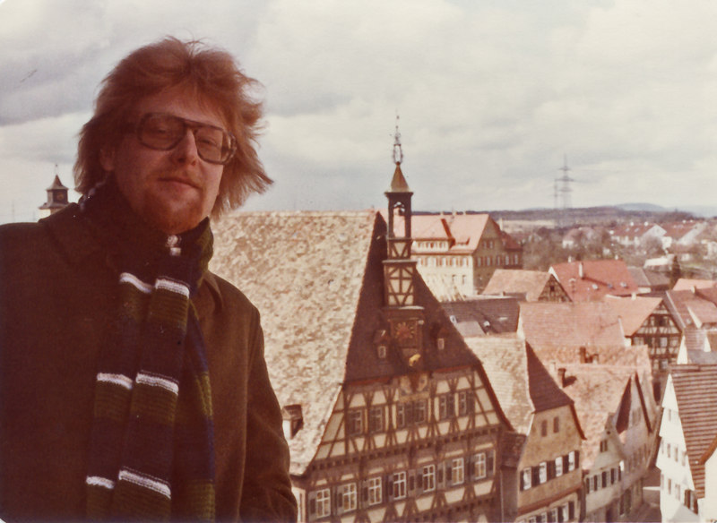 Johannes-Christoph von Buehler, from Church tower in Markgroeningen,  Winter 1978