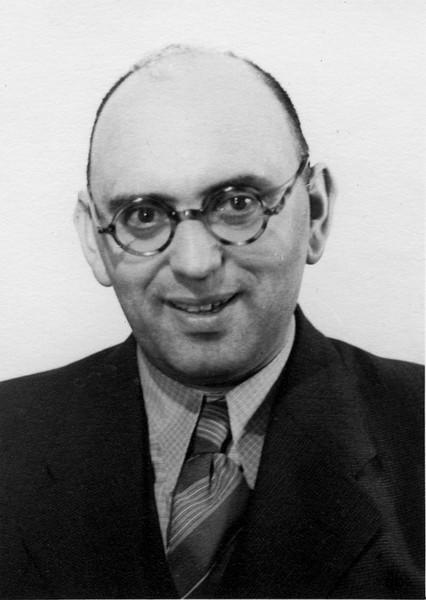 Hugo Chaim Adler (b. 17 Jan 1894, in Antwerp, Belgium; 25 Dec 1955)  [ArcAdler 0011]