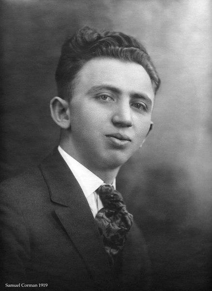 Samuel Corman 1919 Chelsea, MA