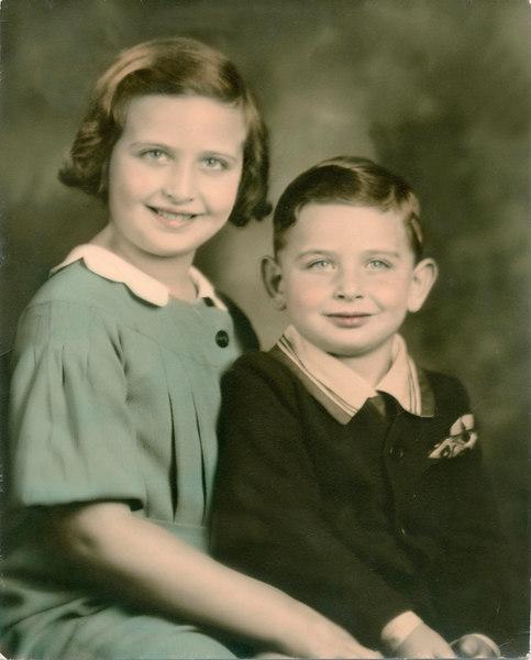 Charlotte & Elliot Corman 1933 (Filene's Photography)