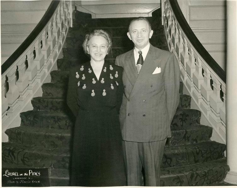 Lillian & Samuel Corman {date?}