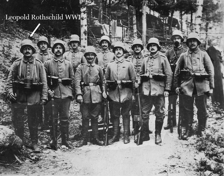 RS018 | World War I, Army Brigade: Leopold Rothschild