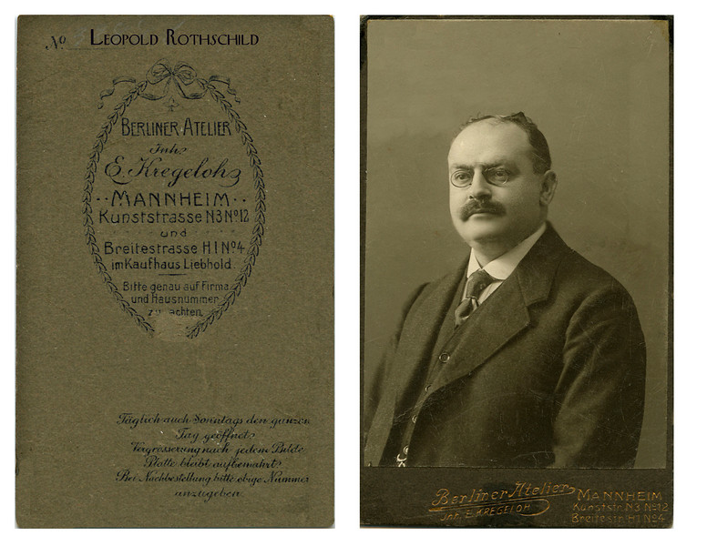 RS 013 | Leopold Rothschild, date uncertain, probably mid-1920s.