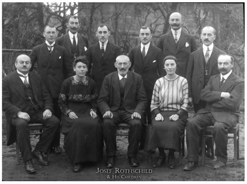 The Josef Rotschild Family of Hoerstein