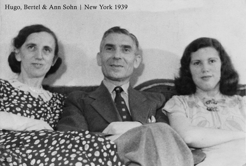 RS025 | Hugo, Bertel, and Ann Sohn (married name, Hartwich).