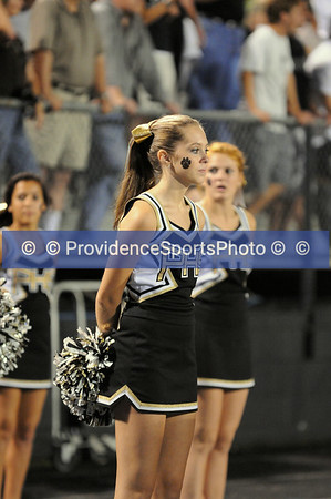 2009 - Cheerleading at Football