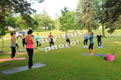 Yoga in the Park 7/15/16