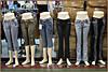 Ladies jeans, Divisoria Market, Manila, Philippines.
