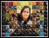 Elizabeth on paper folding collage, Antioch, California.