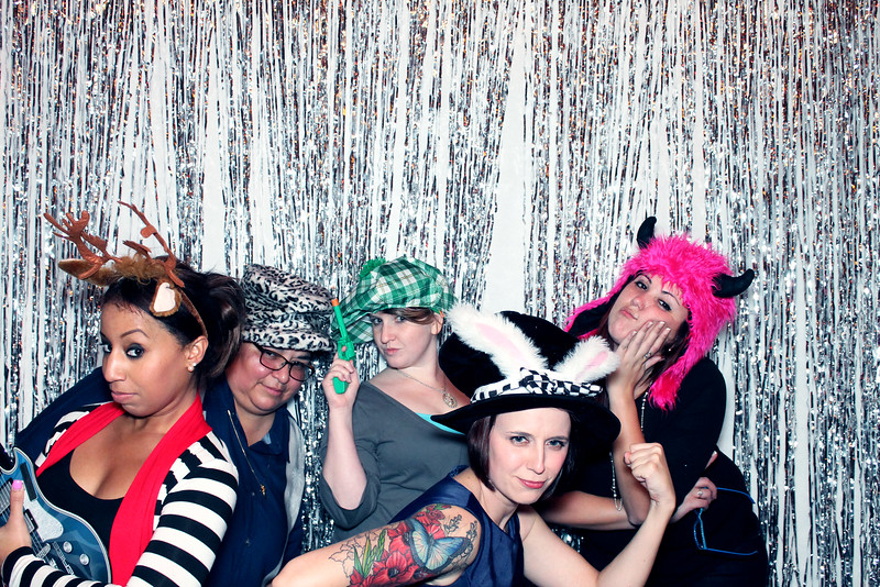 Photobooth image from Austin TX holiday party 2014