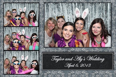 2013 Wedding photo booth images
