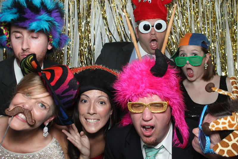 wedding photo booth 2015 New years eve