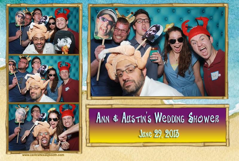 photo booth austin - Ann & Austin Wedding shower