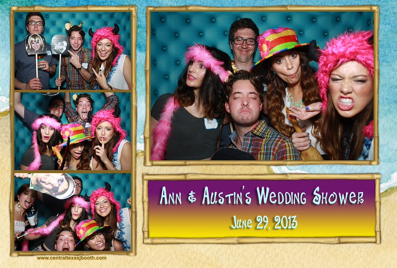 photo booth image from Ann & Austin Wedding shower