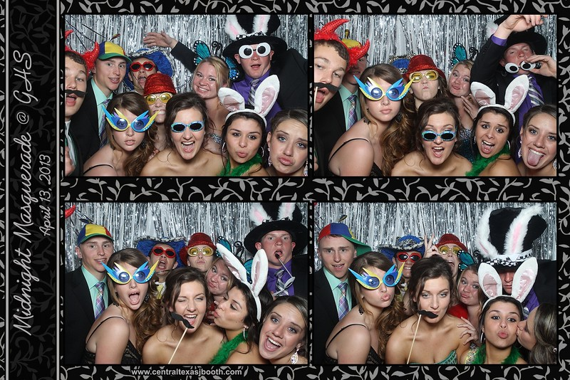photo booth giddings prom in 2013 2