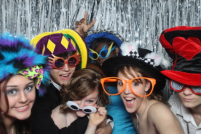 photo booth giddings prom in 2013 1