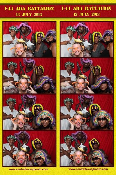 photo booth fun in Killeen on base