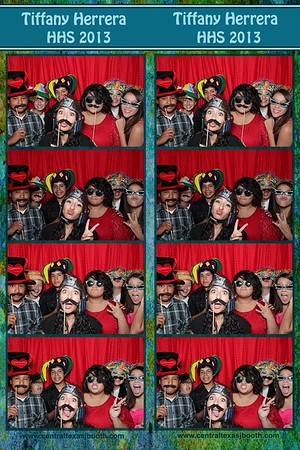 photo booth Hutto, TX at a grad party