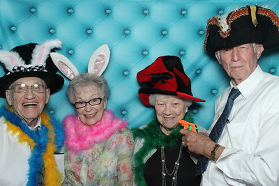 Wedding photo booth at Chateu Bellvue downtown Austin Texas. image 372