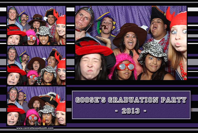 grad party in San Marcos Texas...  Austin area photo booths