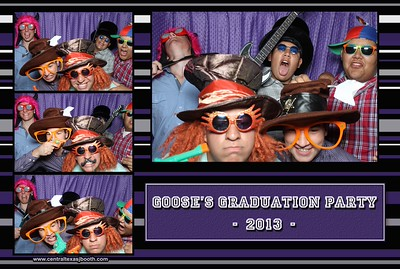 austin area graduation party photo booth