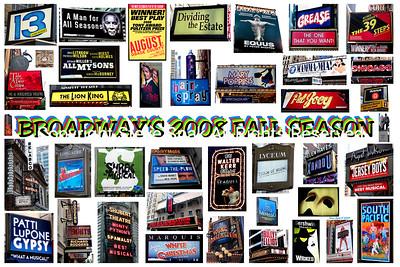 broadway 2008 fall season