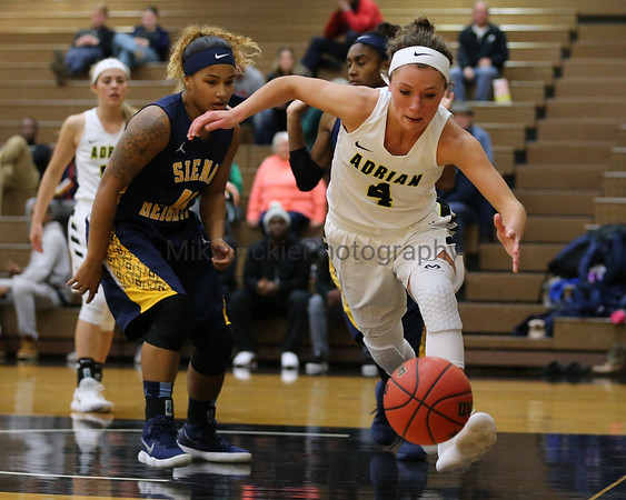 Adrian College vs Siena Heights women's basketball