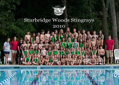 35 stingrays 5X7 group