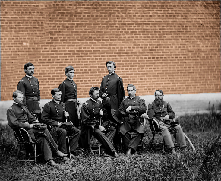 CIVIL WAR ARCHIVAL PHOTO - AFTER EDITING