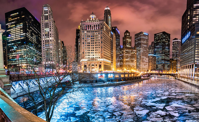 Chicago Skyline on Ice 2018 - 2021 Update - John O'Neill Photography