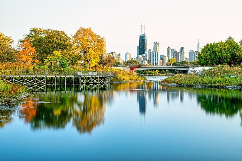 Autumn Arrives in Lincoln Park - John O'Neill Photography