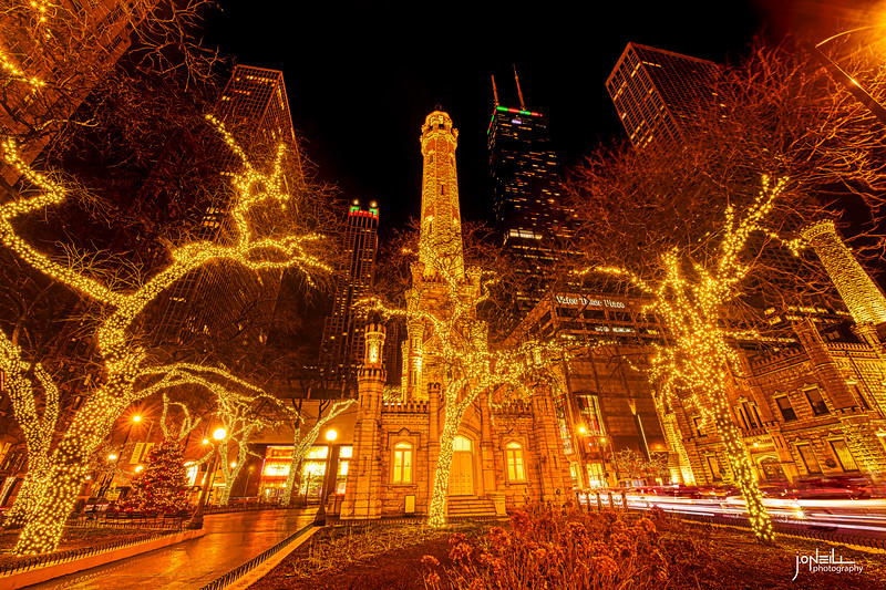 Water Tower Christmas 2019 V2 WM - John O'Neill Photography