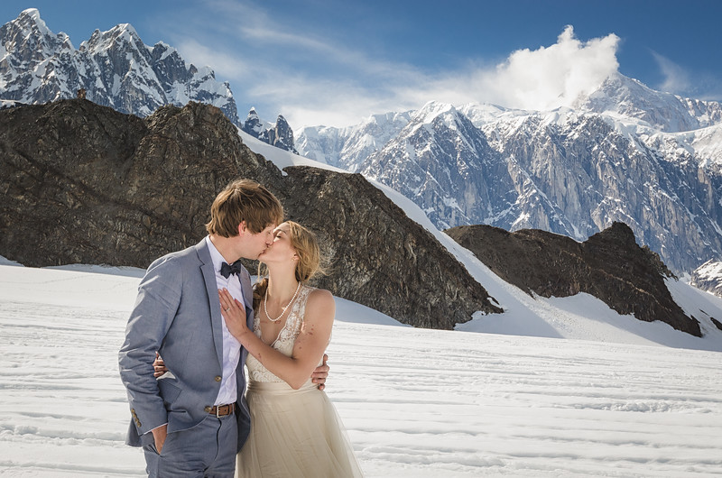 A Denali Wedding Shoot - featured on Huffington Post & Resource Travel