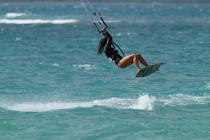 Kite Boarding, Maui