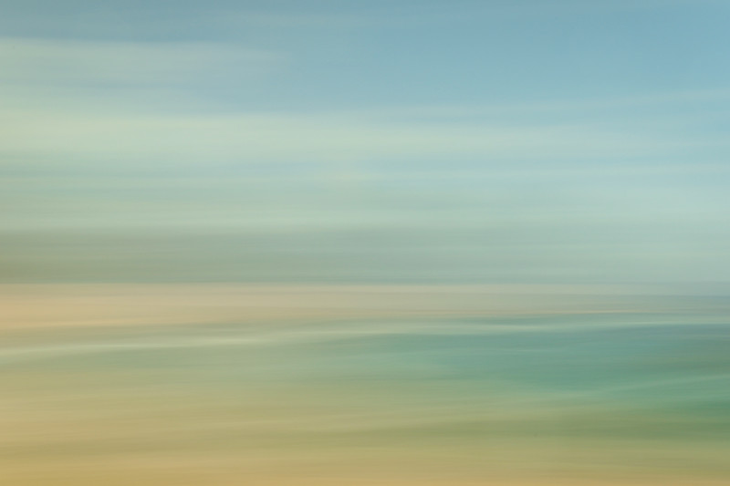 Beach Art- Slow Shutter