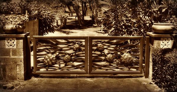 Photo Art Sepia GATE