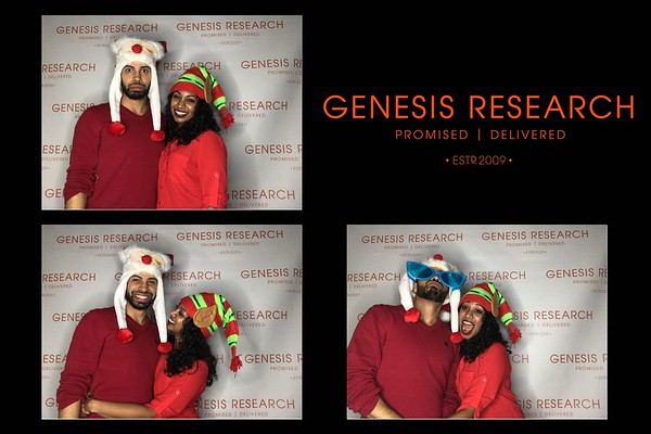 Genesis, Holiday Party,  December 20, 2017