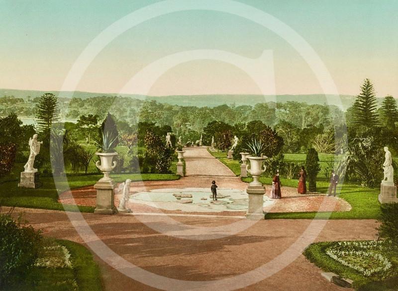 Royal Botanic Garden, Sydney 1890.