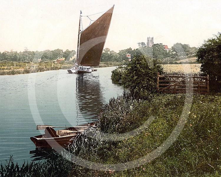 River Bure, Belaugh, Norfolk.