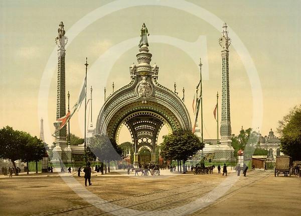 Grand entrance, Exposition Universelle, Paris 1900