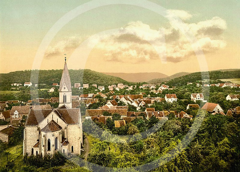 Bad Suderode, Saxony, Germany 1890