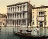 Rezzonico Palace, Venice 1890