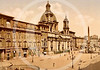 Piazza Navona, Rome 1890